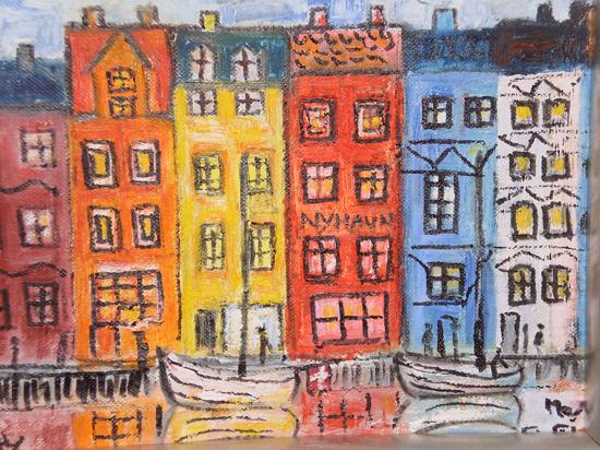 Maleri af Marianne Rydell